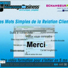 Mot simple de la relation n°3 : merci