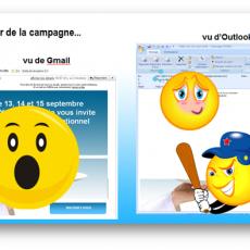 Commandement Emailing 38/100 : Tu vérifieras sur Outlook >2007, Outlook.com et Gmail