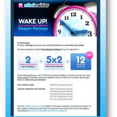 Commandement Emailing 99/100 : Tu réveilleras les inactifs
