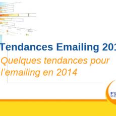 Tendances emailing 2014