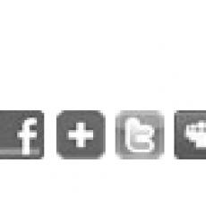 Bouton de partage pouvant être insérés dans vos emailings via l'application Sendethic
