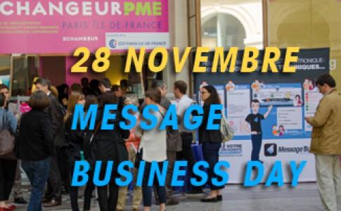 Inscription au 11eme Message Business Day