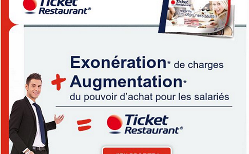 Email marketing : le case study Ticket Restaurant