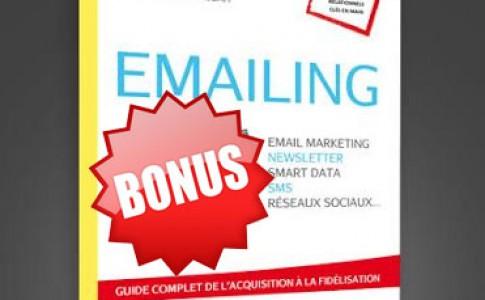 Emailing, le livre 2 eme Edition : les bonus !