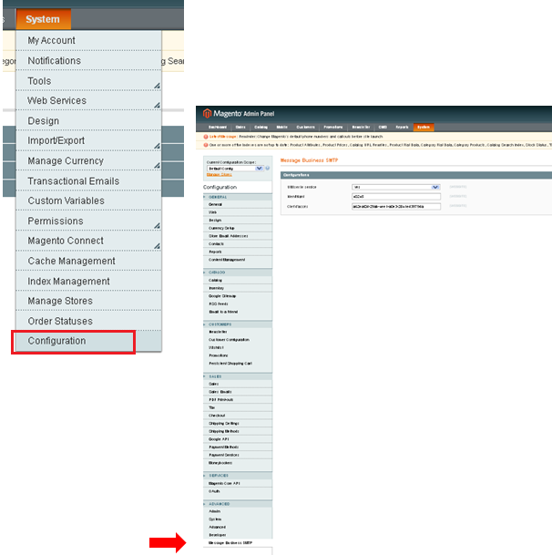 email-transactionnel-configuration-magento