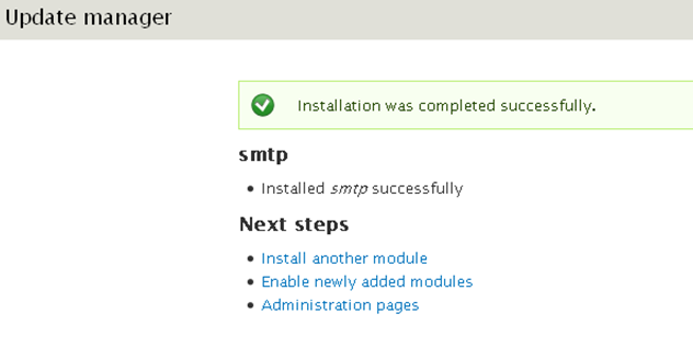drupal-install-smtp-transactionnel-enable
