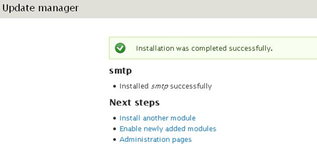 drupal-install-smtp-transactionnel-enable