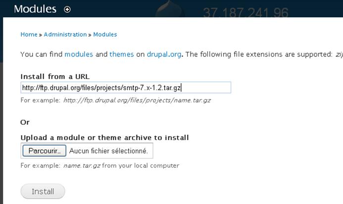 drupal-install-smtp-transactionnel
