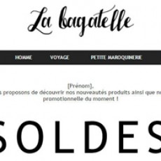 E-commerce masculin  Léa Genovesi
