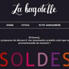 E-commerce féminin  Léa Genovesi