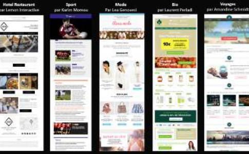 La Collection ! 5 DA rénovent l'email design
