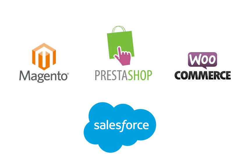 Connecteur Sendethic pour salesforce magento prestashop wordpress woocommerce